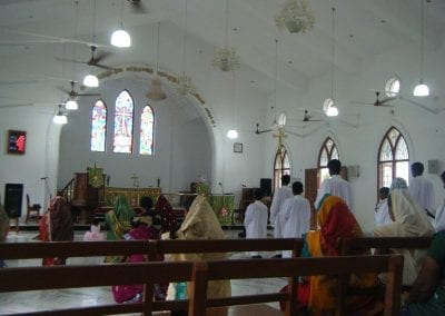 New church in Chinnammalpuram