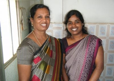 N Thnan Selvi with Principal of Excel School of Nursing