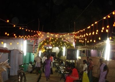 wedding in village near Chinnammalpuram